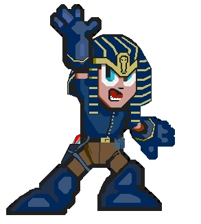 LOOK OUT!!!!1!  IT'S THE DASTARDLY PHARAOH MOBIUS!!!1!!!1!